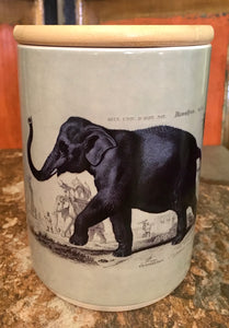Safari Animals Ceramic Storage Canister