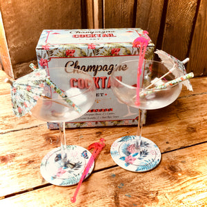 Champagne Cocktail Set