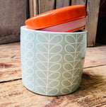 Load image into Gallery viewer, Orla Kiely Duck Egg Storage Jar