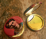 Load image into Gallery viewer, Frida Kahlo Compact Mirror