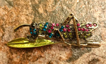 Load image into Gallery viewer, Heritage Brooch - Grasshopper