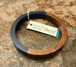 Load image into Gallery viewer, Wood & Resin Bangle