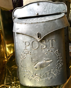 Metal Post Box