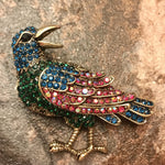 Load image into Gallery viewer, Heritage Large Brooch - Bird