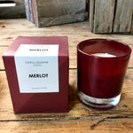 Load image into Gallery viewer, Boxed Glass Scented Candles - Drinks