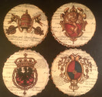 Load image into Gallery viewer, Ceramic Vintage Coaster Sets