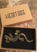 Load image into Gallery viewer, Heritage Brooch - Lizard