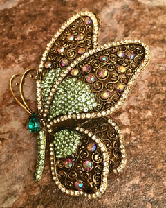 Heritage Large Brooch - Butterfly