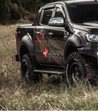 SIDE STEP BLACK POWDER MITSUBISHI L200 2014-2018