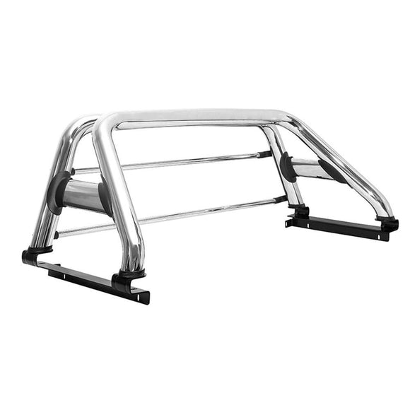 ROLL BAR WB DOUBLE (CHROME) TOYOTA HILUX REVO/ROCCO 2016-2020
