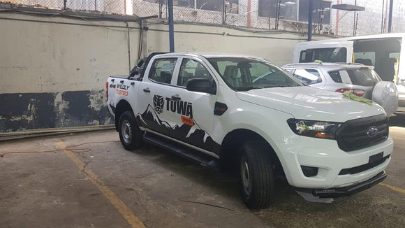 DEFENSA NEGRA BAJA FORD RANGER 2017+
