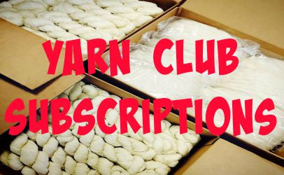 12 Month Yarn Club Subscription (Qiviut included!)