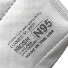 Load image into Gallery viewer, NIOSH N95 Respirator Made In USA (10 Pack) $3.49/Ea.