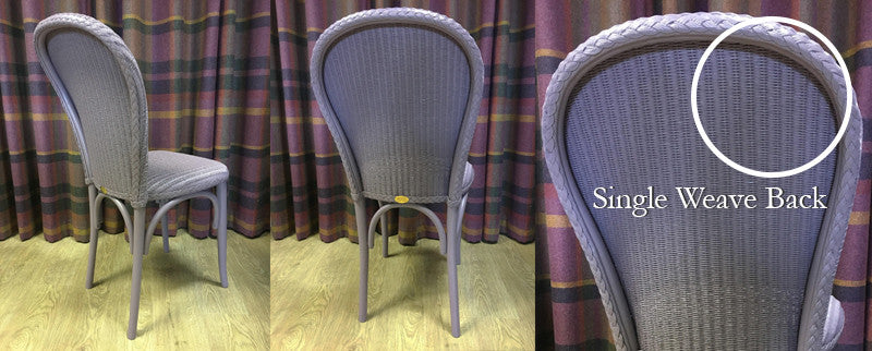 The Difference Between Single Weave & Double Weave Lloyd Loom Chairs?