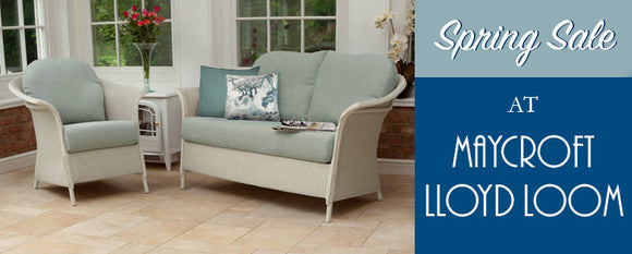Spring Sale At Maycroft Lloyd Loom