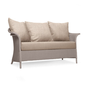 British Made Banford 2 Seat Lloyd Loom Sofa With Scatter