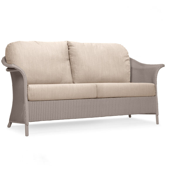 British Made Banford 3 Seat Lloyd Loom Sofa