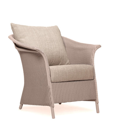 British Made Banford Lloyd Loom Armchair With Scatter