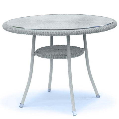 Bistro Outdoor Lloyd Loom Small Round Table Garden