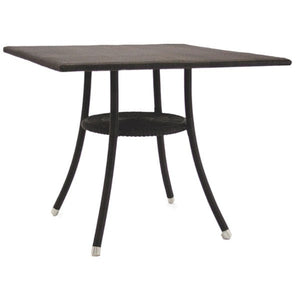 Bistro Outdoor Lloyd Loom Square Table Garden