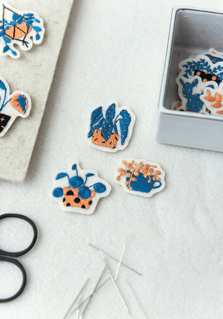 Houseplant Patches by Irene Saputra
