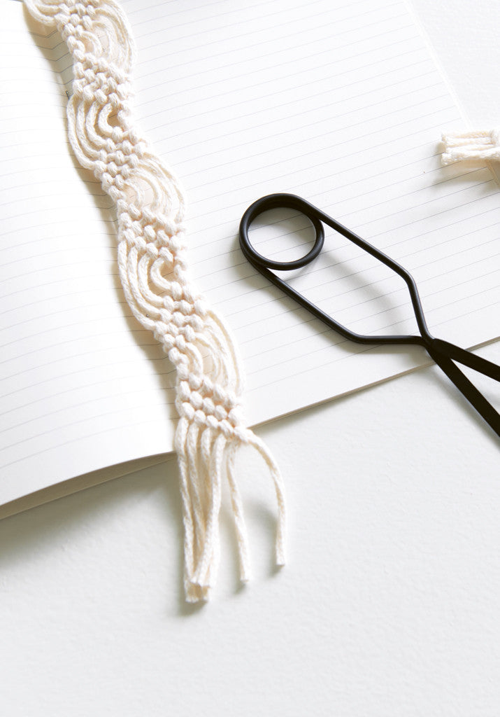 Macramé Bookmark by Mei Kwee Chong