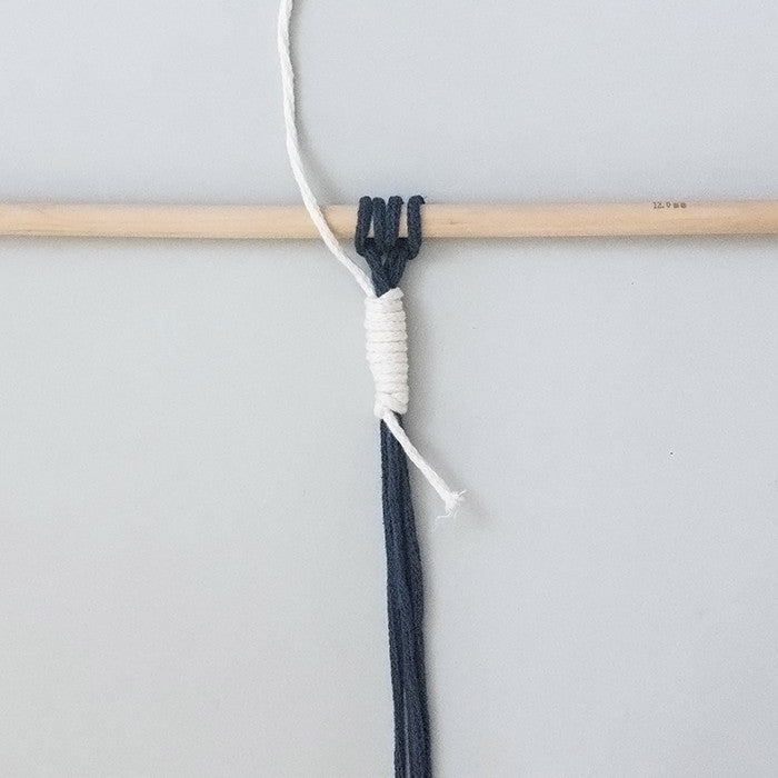 Macramé Knots: Wrapped Knot