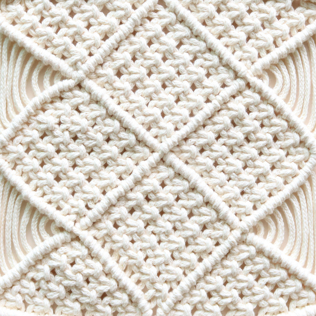 Macram Laptop Mat By Mei Kwee Chong Koel Magazine Square Knot Diagram 33rd Row Complete A Of Horizontal Double Half Hitch