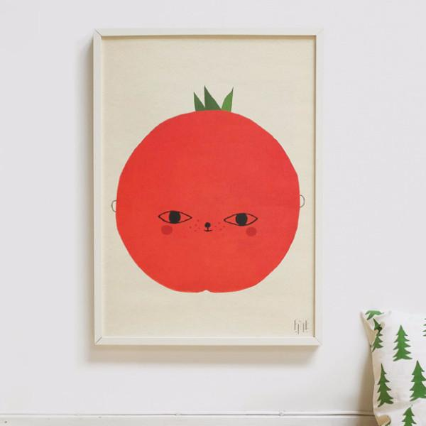 Fine Little Day Tomato Poster