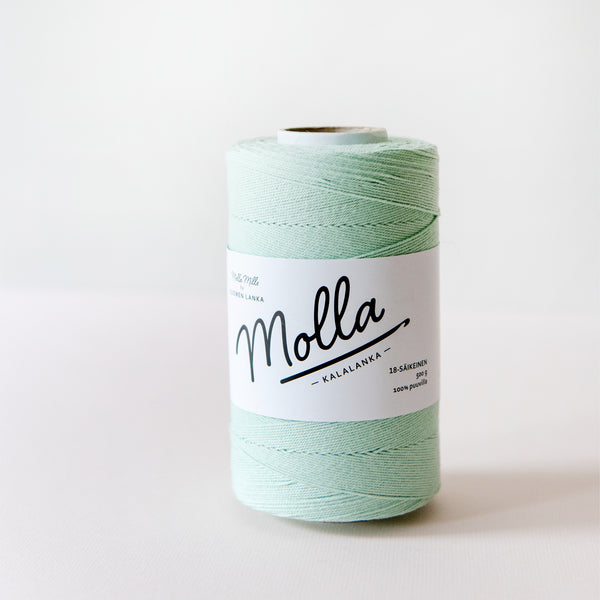 Molla Mills cotton twine in Mint
