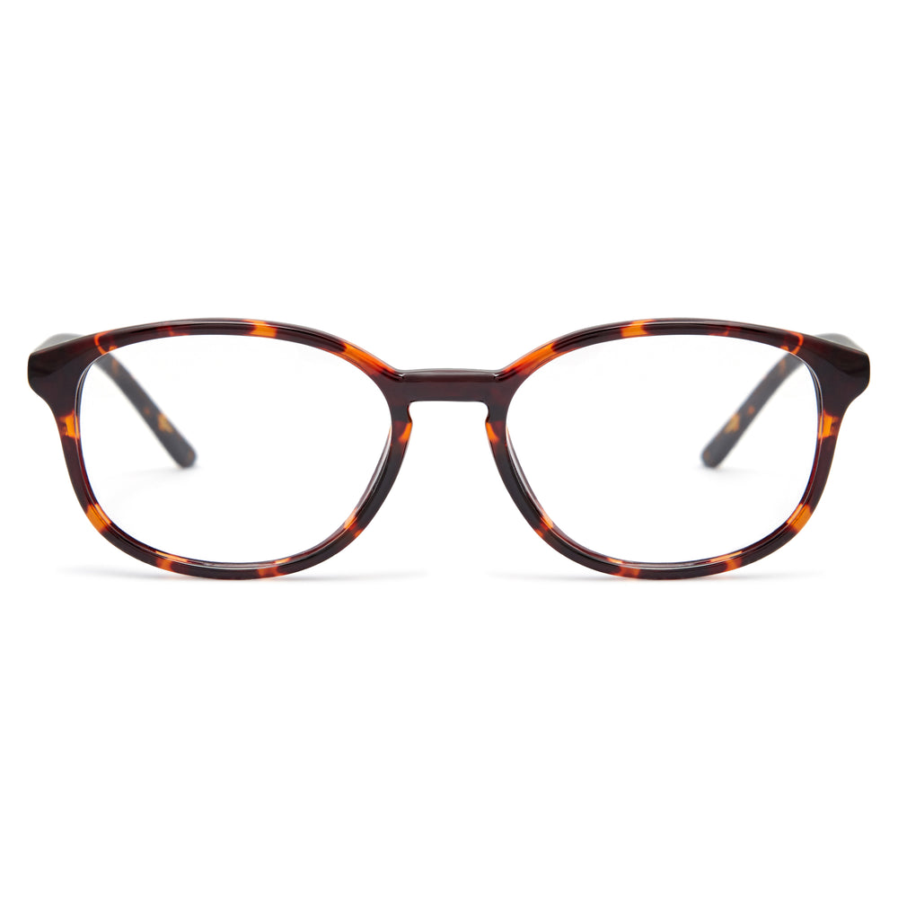 Brown Tortoise / Protective & Anti-Glare Coating - Glasses