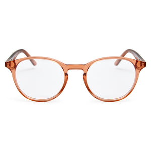 Brown Blush / Protective & Anti-Glare Coating - Glasses