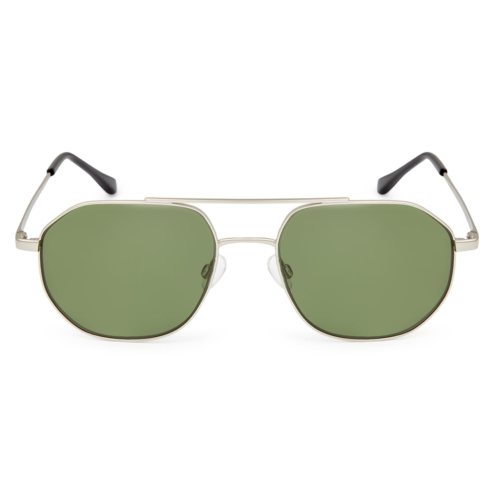 Load image into Gallery viewer, Silver / Green - Glasses