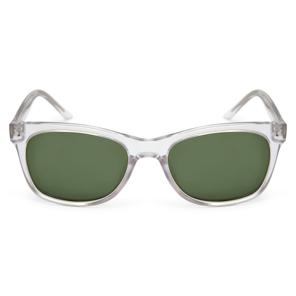 Crystal / Green - Glasses