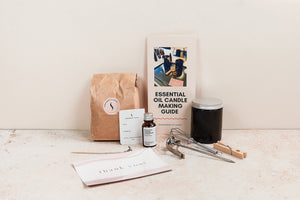 Essential Oil Candle Making Kit (two candles)