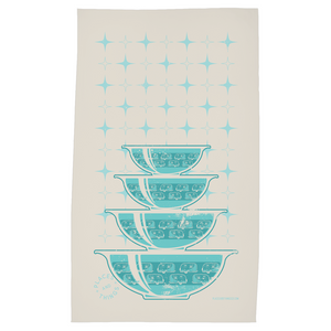 Tea Towel — Stacked Bowls — Road Toaster