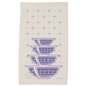 Tea Towel — Stacked Bowls — Canned Ham