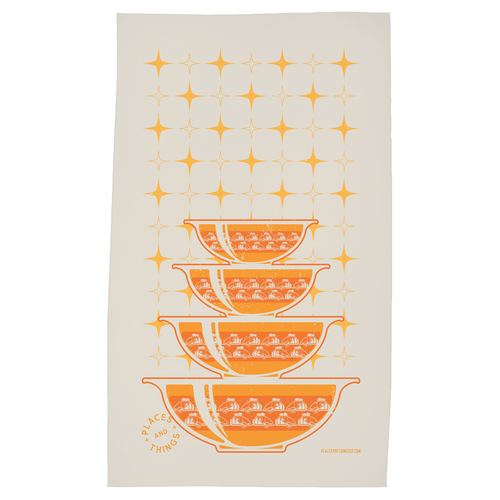 Tea Towels — Stacked Bowls — Teardrop