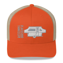 Load image into Gallery viewer, Trucker Cap — Pop-Up, grey