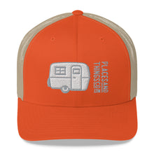 Load image into Gallery viewer, Trucker Cap — Egg-On-Wheels, grey