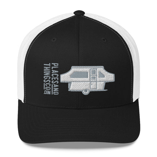Trucker Cap — Pop-Up, grey