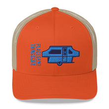 Load image into Gallery viewer, Trucker Cap — Pop-Up, blue