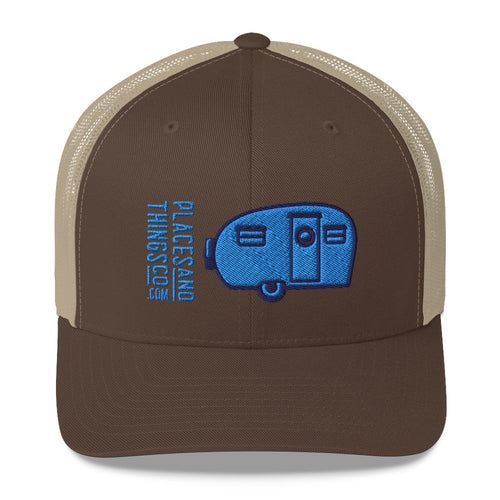 Trucker Cap — Canned Ham, blue