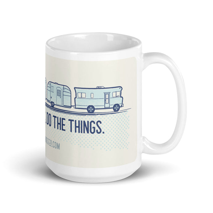 Mug — Places+Things Trailer Train