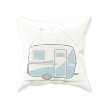 Load image into Gallery viewer, Throw Pillow — Egg-On-Wheels, light/dark