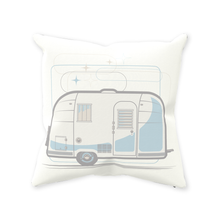 Load image into Gallery viewer, Throw Pillow — Road Toaster, light/dark