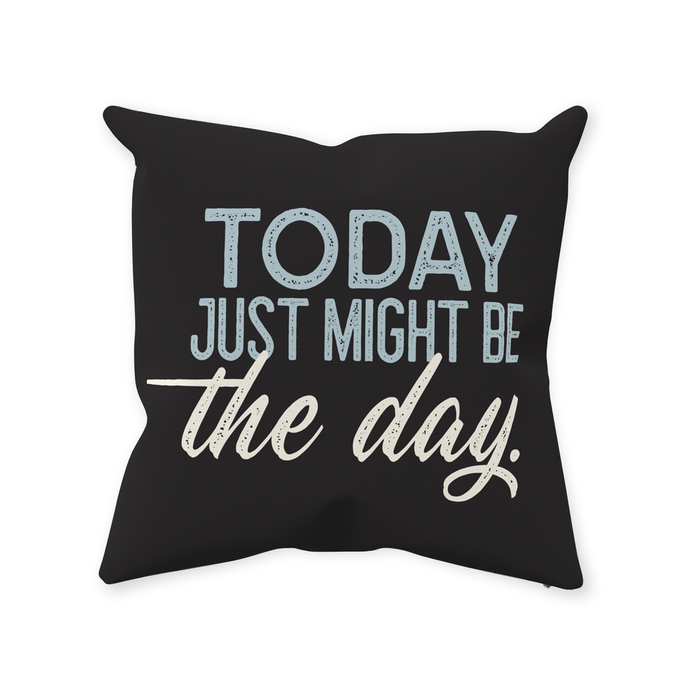 Throw Pillows — Today Just Might Be The Day