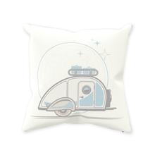 Load image into Gallery viewer, Throw Pillow — Teardrop, light/dark