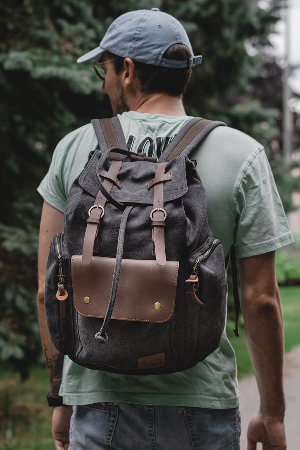Montana Buffalo Rustic Backpack