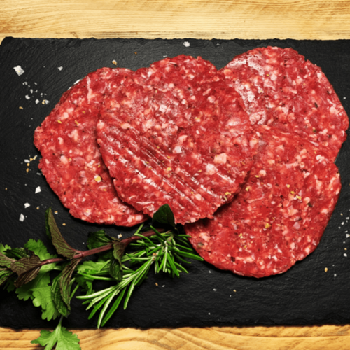 Lamb and Mint Burgers (Packet of 4) - Primal Grazing - Pasture Raised - GMO Free